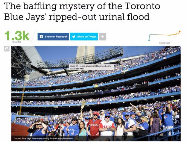 沒人知道為什麼球賽打到一半會忽然淹大水,直到目擊證人秀出「超荒謬的意外赤裸照片」。