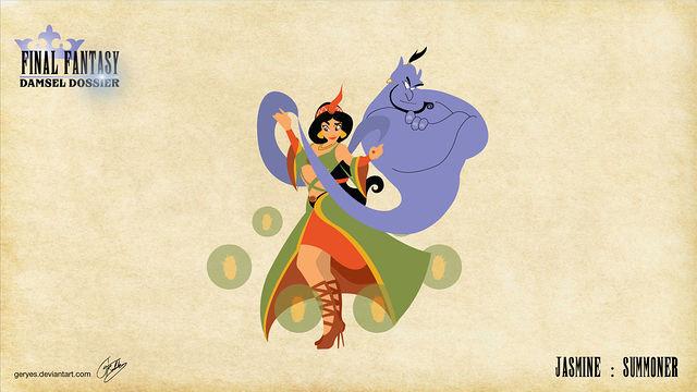 當迪士尼公主完美變身「太空戰士」中的職業,我已經跪在迪士尼公司外請他們一定要拍電影了!