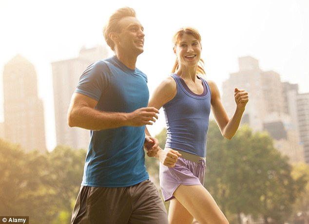 There are at least eight pills under development that aim to mimic some of the effects of exercise (file image)
