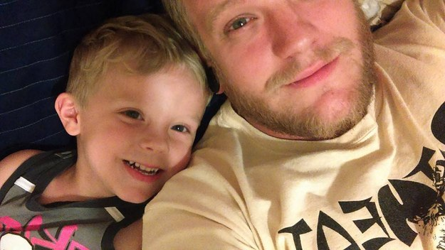 Paul Henson is a 28-year-old dad from from Virginia and he's currently trying to help his son Caiden find the perfect Halloween costume.