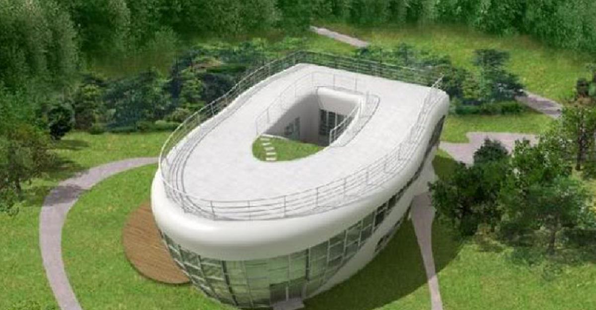 10個全世界最「讓我不知道怎麼形容」的超詭異建築物。