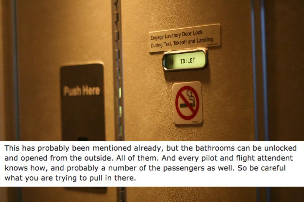15個空服員終於忍不住要公開搭飛機時「乘客被蒙在鼓裡」的秘密了。