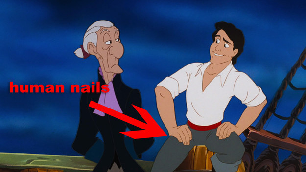 Because, you know, fingernails are kind of important and useful.