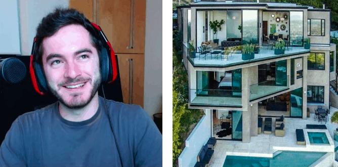 這名23歲少年光靠打電玩就輕鬆賺到這棟1.5億豪宅,裡頭奢華設計逼死人了!