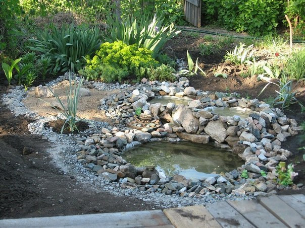 Recycled Tires Pond 07