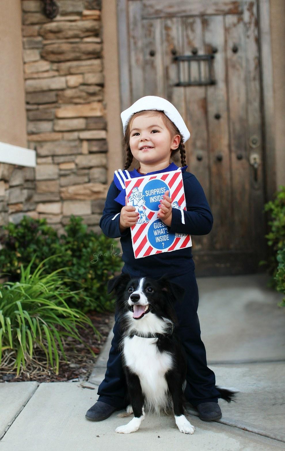 She was the sailor on the Cracker Jacks box...