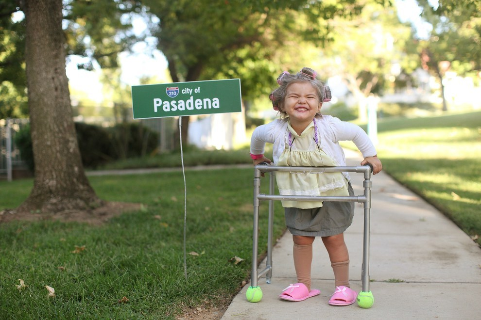 A little old lady from Pasadena...