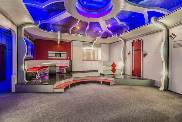 the seller dubbed it the uss cyrus A Texas home has a secret room that makes it unlike any place on the market (13 Photos)
