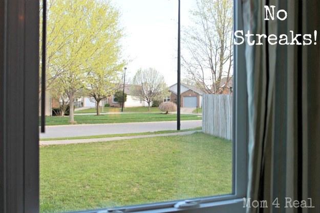 Use newspaper to get streak-free windows.