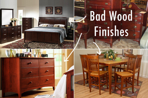Avoid these unappealing wood colors.