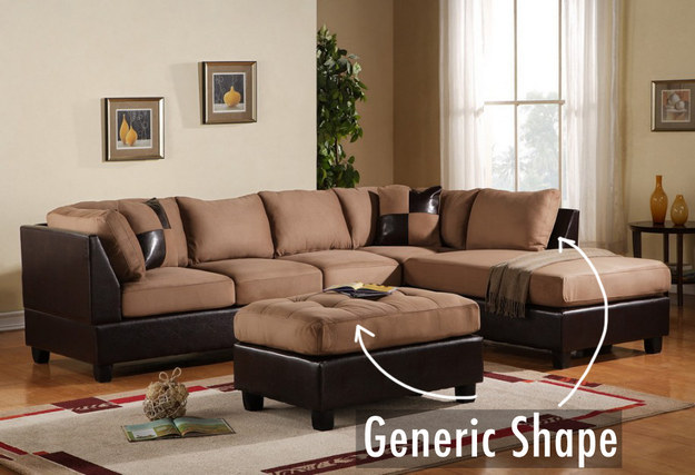 Don't pick a generic-looking sofa.