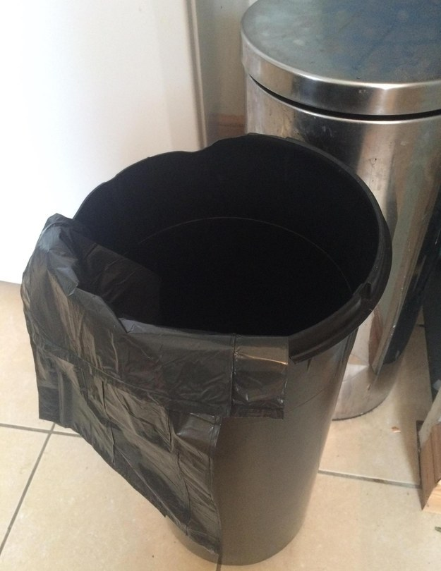 Or the 23 seconds it takes to put a new bin bag in the bin.