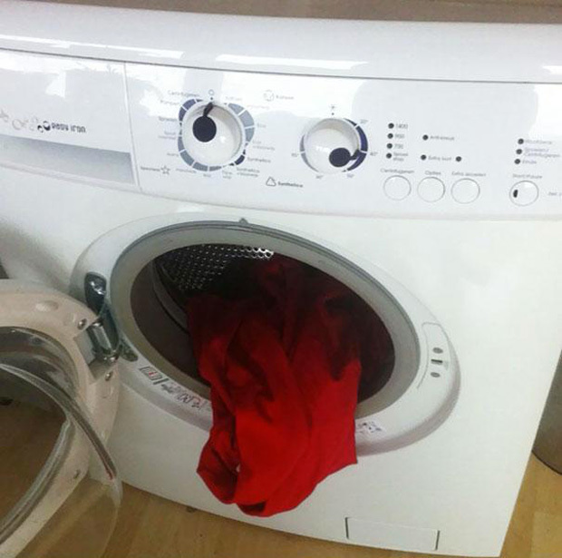 Your washing machine is sick of doing your dirt.