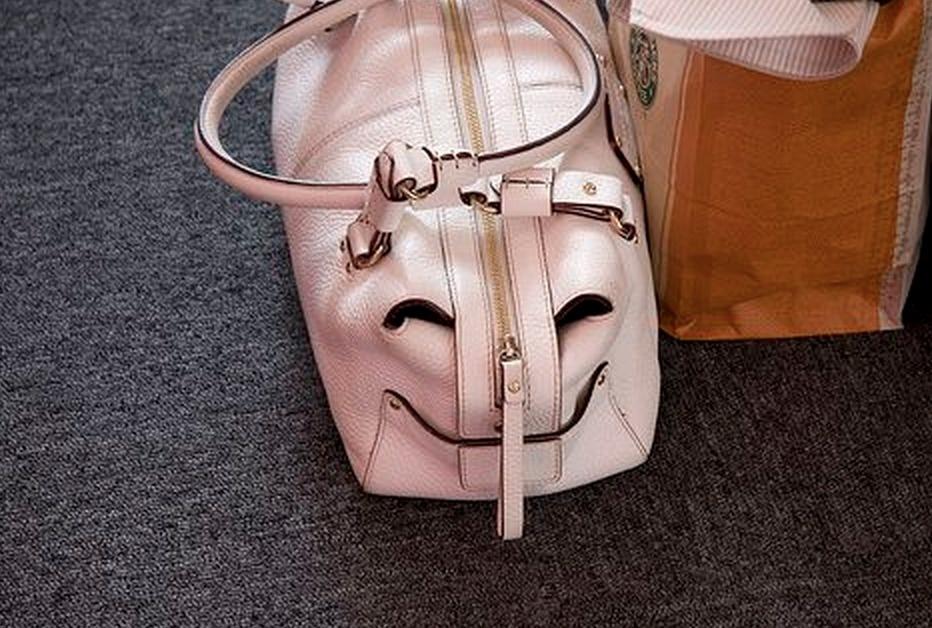 The happiest weekender bag we've ever seen.
