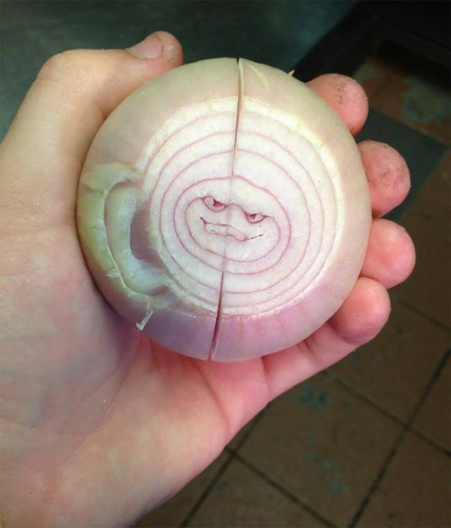 Check yourself, because this onion is pissed.