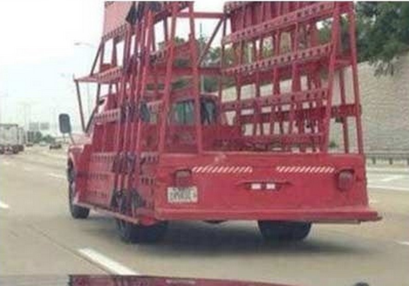 When a truck resembles your favorite Rugrat.