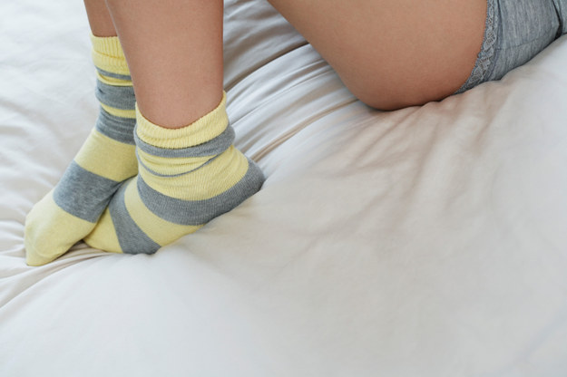 Give yourself a healing foot treatment while you sleep.