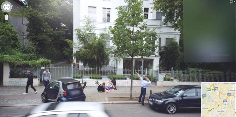 11張Google街景車意外最不該拍下的畫面。