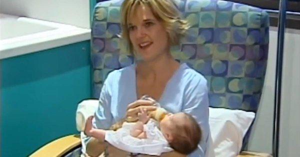 這個女嬰的超恐怖超音波影像把父母嚇壞了,為了救她一命醫生只好逼著她「出生兩次」!