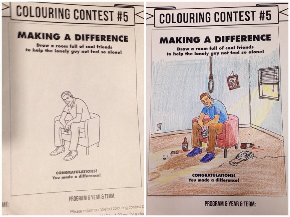 30張「讓你的童年開始兒童不宜」的超惡搞爆笑兒童著色本。