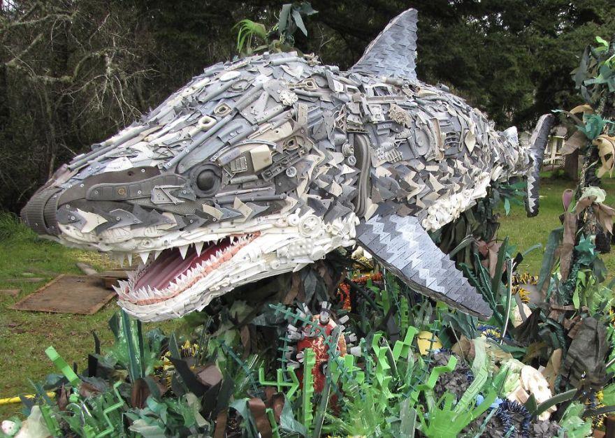 13座「會讓你看得很慚愧」的水中生物雕像,我們每個人都是將它們創造出來的幫兇。