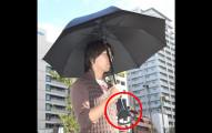別小看這把日本的最新雨傘,它的「變形傘柄」將會在你外出時救你一命!