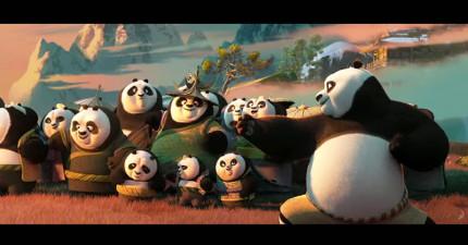 《功夫熊貓3》終於釋出完整電影預告了!看完我才了解「為什麼熊貓會是保育類」...