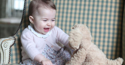 英國皇室首度公布夏洛特公主6個月的新照片!「水汪汪的碧藍色大眼睛」讓網友們都被萌翻了!