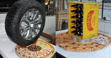 這家餐廳端出的披薩絕對會顛覆你的想像力,正式榮登你心目中最怪Pizza第一名!