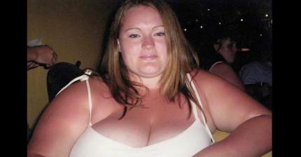 醫生曾警告153公斤的她「再不進行縮胃手術人生就毀了」但被她拒絕,後來的結果證明她的決定是對的!