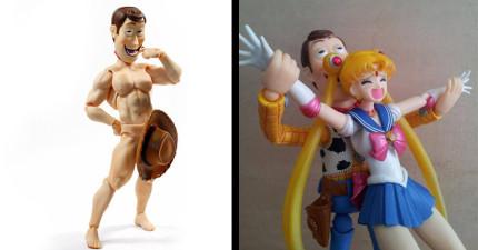 27張照片證明其實《玩具總動員》裡的胡迪警長就是父母親最該擔心的大變態!