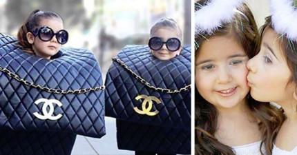 這對超可愛的4歲雙胞胎爆可愛已有數萬個忠實粉絲了!超時尚打扮香奈兒看到都會回頭多看兩眼!