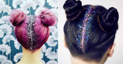 最新的「精靈」髮型已經席捲全球形成一股潮流,你看過後會很恨自己頭髮怎麼沒有這麼閃閃發亮!