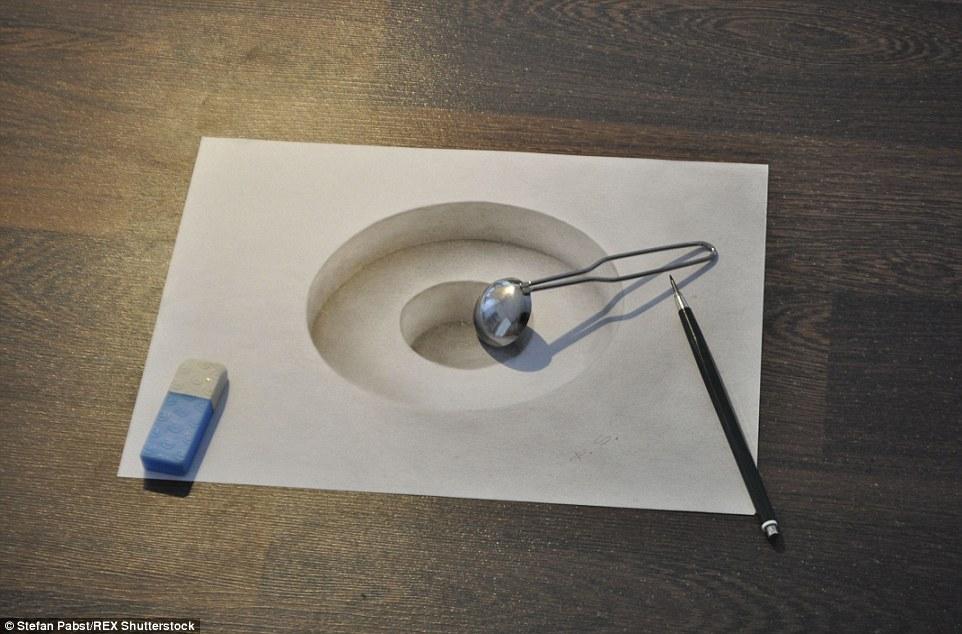 24幅「比照片還真實的3D畫作」,看到第4張我已經完全分不清楚平面跟立體的差別了。