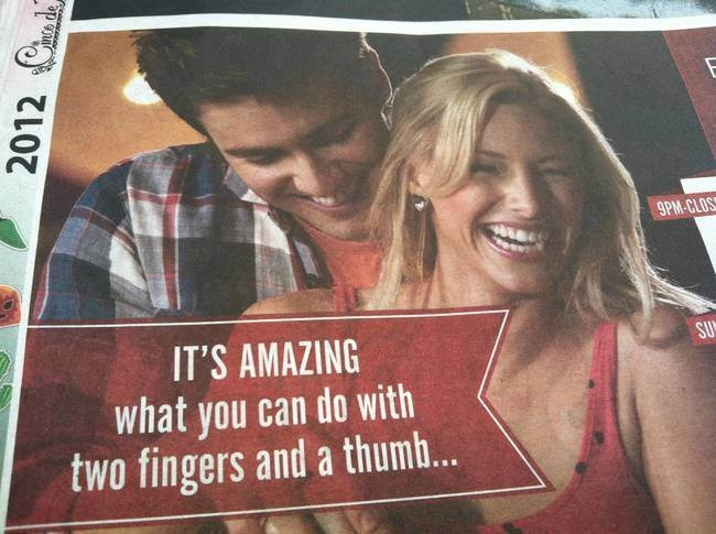 They're talking about bowling, you perverts!