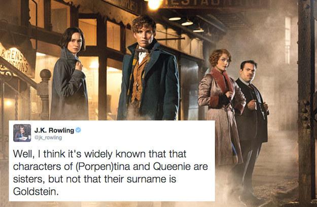 19個JK羅琳親自宣布的2015年《哈利波特》番外機密,看完後你就比鄧不利多還了解巫師世界了!