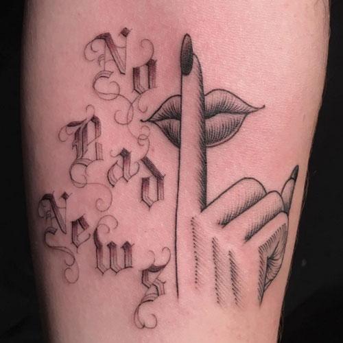 美國知名刺青藝術家要求客人將手伸進洞中,一拿出來完美到全國人民都排隊想要擁有!(26張)