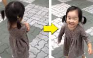 只要讓小孩穿上這雙神奇鞋子,就算她多生氣也會馬上變超開心,這個小蘿莉的影片就證明了一切!