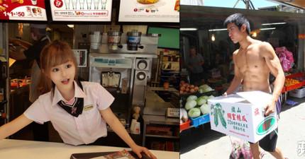 10名「紅到連外國媒體都瘋狂報導」的亞洲帥哥美女路人。其中台灣竟然就佔了4個名額!