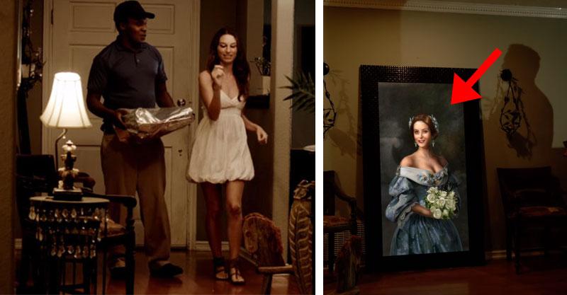 火辣少婦邀請披薩外送員進家裡,下一秒「畫像」將他嚇到快往生!