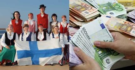 芬蘭政府決定「每月給每個市民台幣28000元」,而且居然可以幫政府省下這麼多錢!