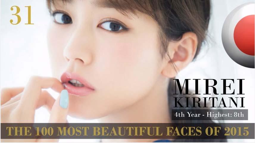 2015「全球百大帥哥美女名單」剛剛出爐,女生第13名是你一定能猜到的台灣之光!