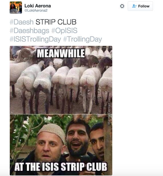 11張在「全球反ISIS日」被網友完全玩壞的ISIS惡搞照片,看完我才明白為什麼ISIS要蒙面...