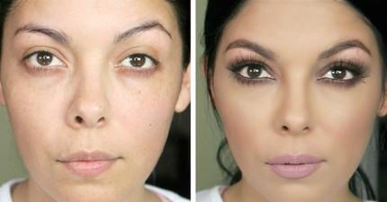 17個證明世界上沒有醜女人的「立刻把你變超美」簡易美妝DIY影片!