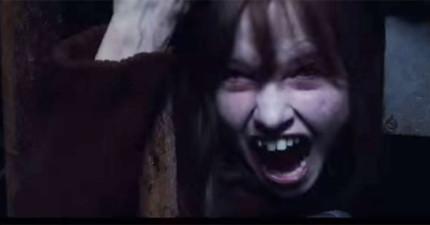《厲陰宅2》預告片剛推出就已經很多網友都說是史上最恐怖電影,看到最後「十字架翻轉」畫面讓我不敢看了!