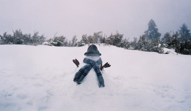 合歡山賞雪