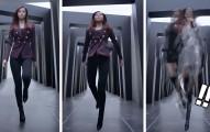 子瑜在這段新推出的廣告中突然跳起來大變身,後來出現的超猛服裝讓我再次愛上她了OMG!