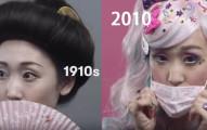 2分鐘看完日本100年來的「女性時尚」變化,1980年代最棒!