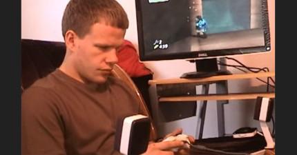 全盲的他花了5年終於成功全破3D難度超高電玩《薩爾達傳說》,首度公開的「超扯遊戲秘訣」讓我瞬間跪了。