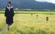 16個「根本不是用來趕走烏鴉而是用來嚇死人的」的日本各地奇形怪狀稻草人。